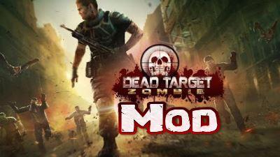 Dead Target Mod apk Offline para Android Juego de Zombies con todo Ilimitado