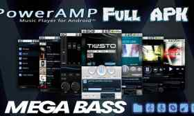 Poweramp Full Version Unlocker apk 2020 para Android Mega Bass Music
