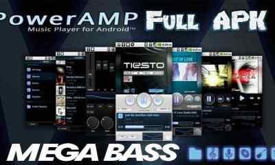 Poweramp Full Version Unlocker apk 2020 para Android Mega Bass Music