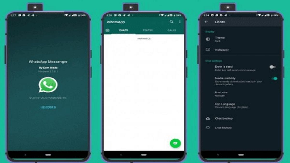 WhatsApp Messenger Android APK mod para Android