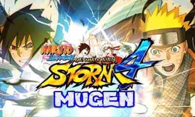 Naruto Shippuden Storm 4 Apk sin emulador Android Mugen