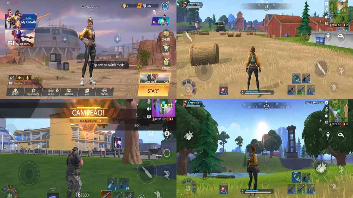 Omega Legends apk Android Similar a Fortnite para Cualquier Smartphone