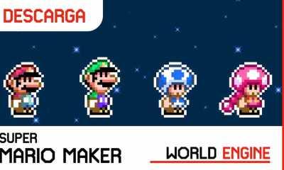 Super Mario Maker World Engine APK Actualizado