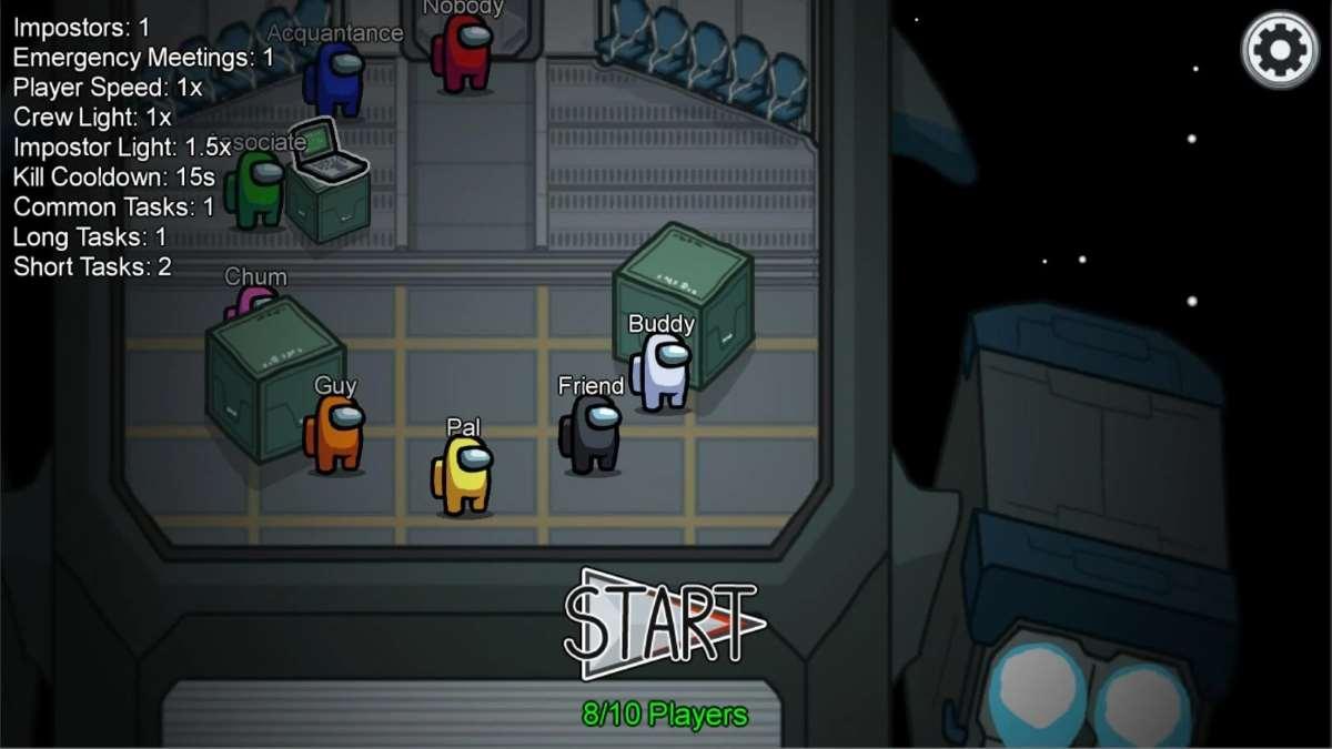 Among Us para Android apk El juego mas divertido del momento