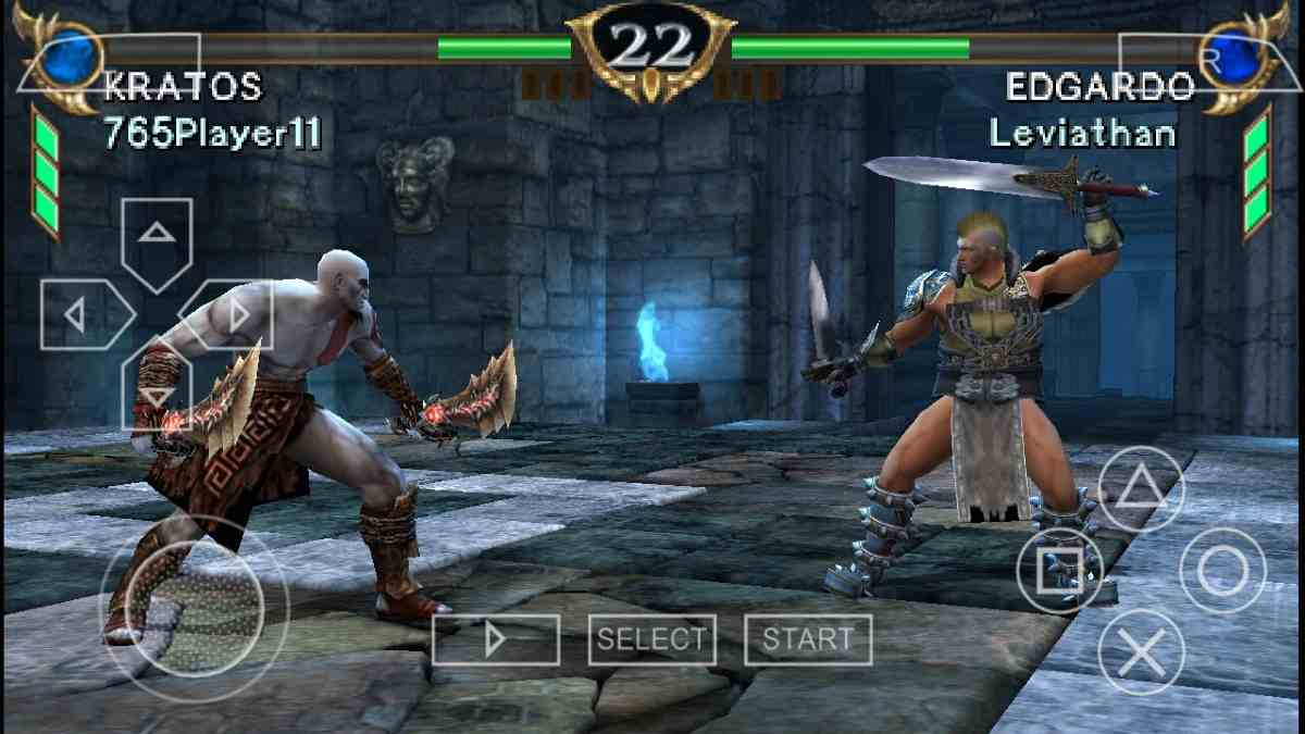 Soul Calibur Broken Destiny con Kratos