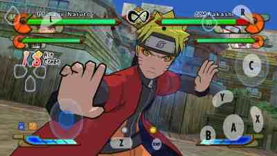 Naruto Shippuden Gekitou Ninja Taisen Special brutal juego de Peleas