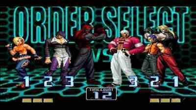 El mejor juego de luchas The king of Fighters