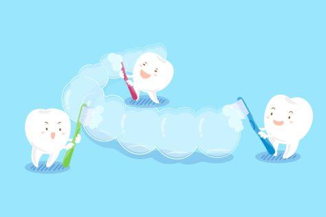 Cara Membersihkan Invisalign- Global Estetik Dental Care
