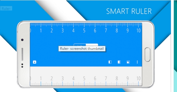 تطبيق قياس المسافات باستعمال الكاميرا