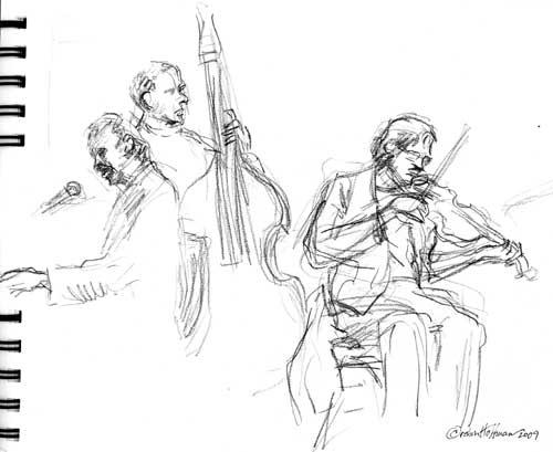 Andru Bemis sketch by Robin Hoffman