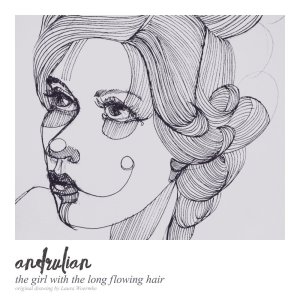 The girl with the long flowing hair – how I made an album using a drawing by Laura Woermke