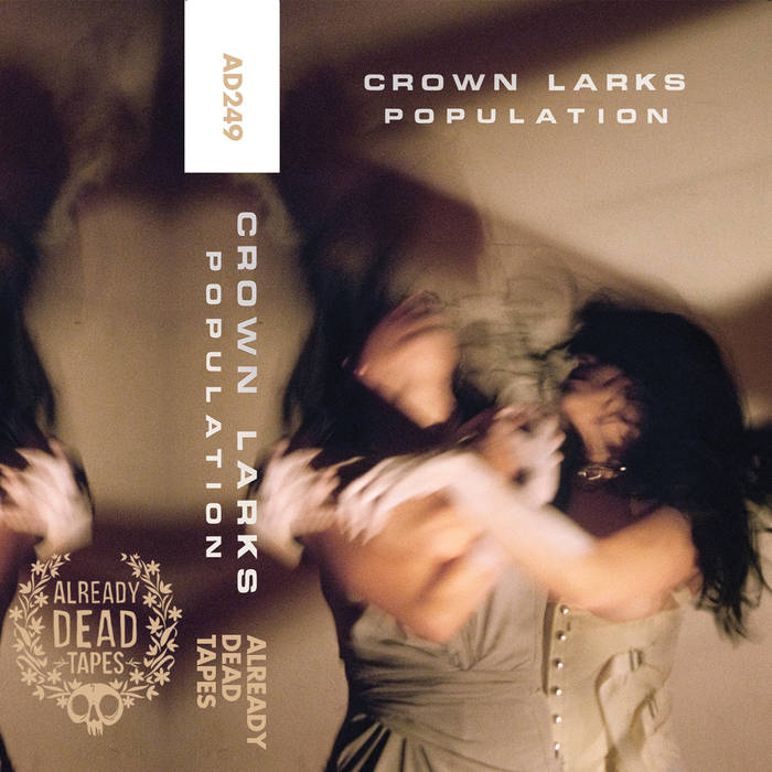 Review of Population album by Crown Larks on Already Dead Tapes and Records (AD249)