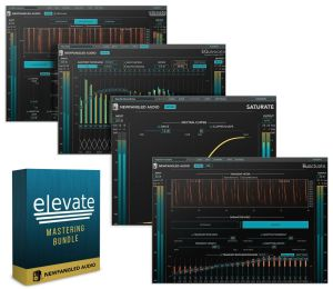 Review of Eventide and Newfangled Audio's updated 1.5 Elevate Bundle : (Elevate – Multiband Mastering Dynamics plugin; Equivocate – Auditory EQ plugin; also includes two new plugins)