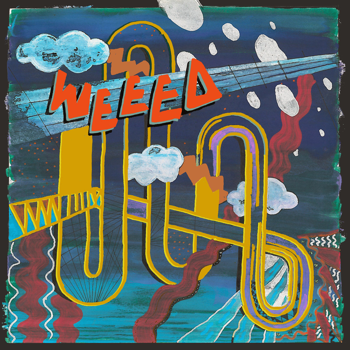 Review of 'You are the Sky' album by Weeed on Halfshell Records