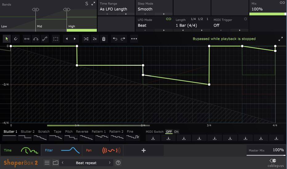 Review of Shaperbox 2 – six powerful Cableguys effects in one plugin