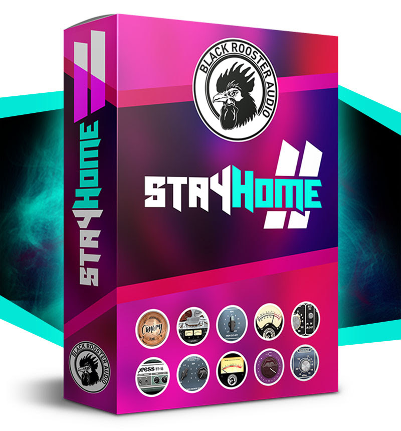 Black Rooster Audio launch Stayhome II sale – massive 70% discount on plugins and 20% of profits going to the Music Health Alliance