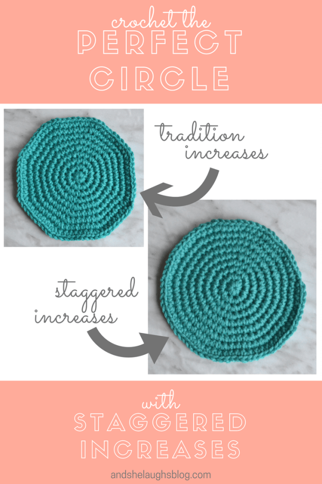 Crochet Tip: Crochet the Perfect Circle - And She Laughs Crochet
