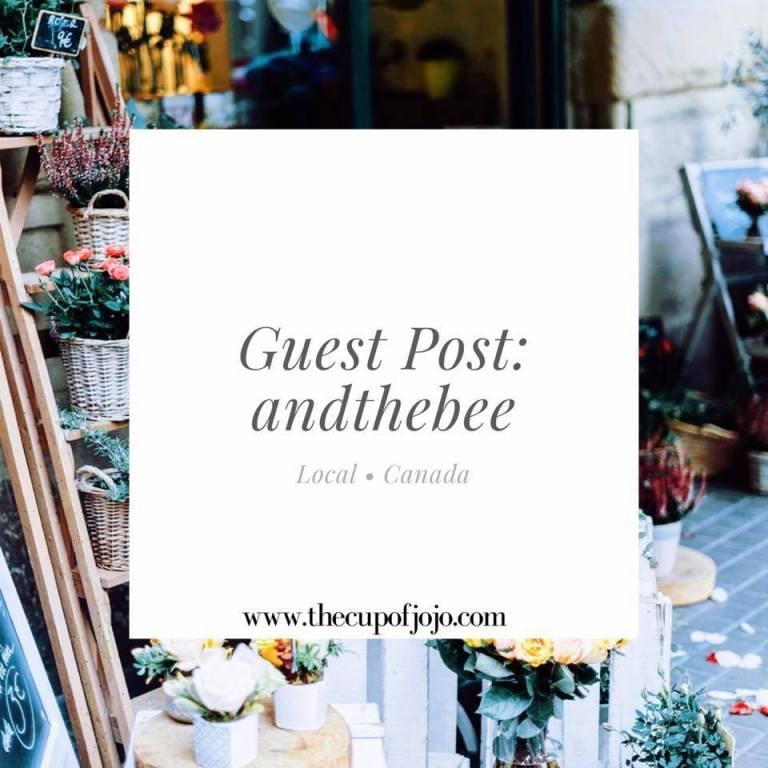 Guest post interview andthebee