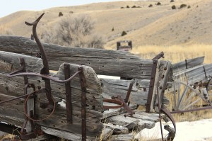 Near & Far - Near -- Shallow Depth with Focus Near -- Bannack