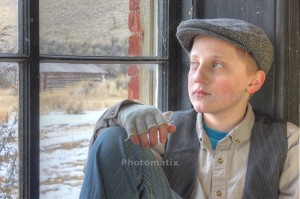 Andy Bell - Reflection - HDR Portrait - Bannack
