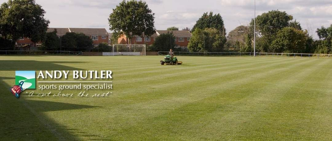 Football pitch maintenance from Andy Butler Sports Ground Specialist