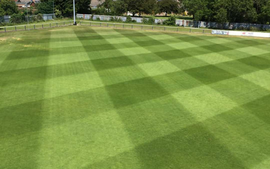Air injection for Cowes Sports Football Club pitch maintenance