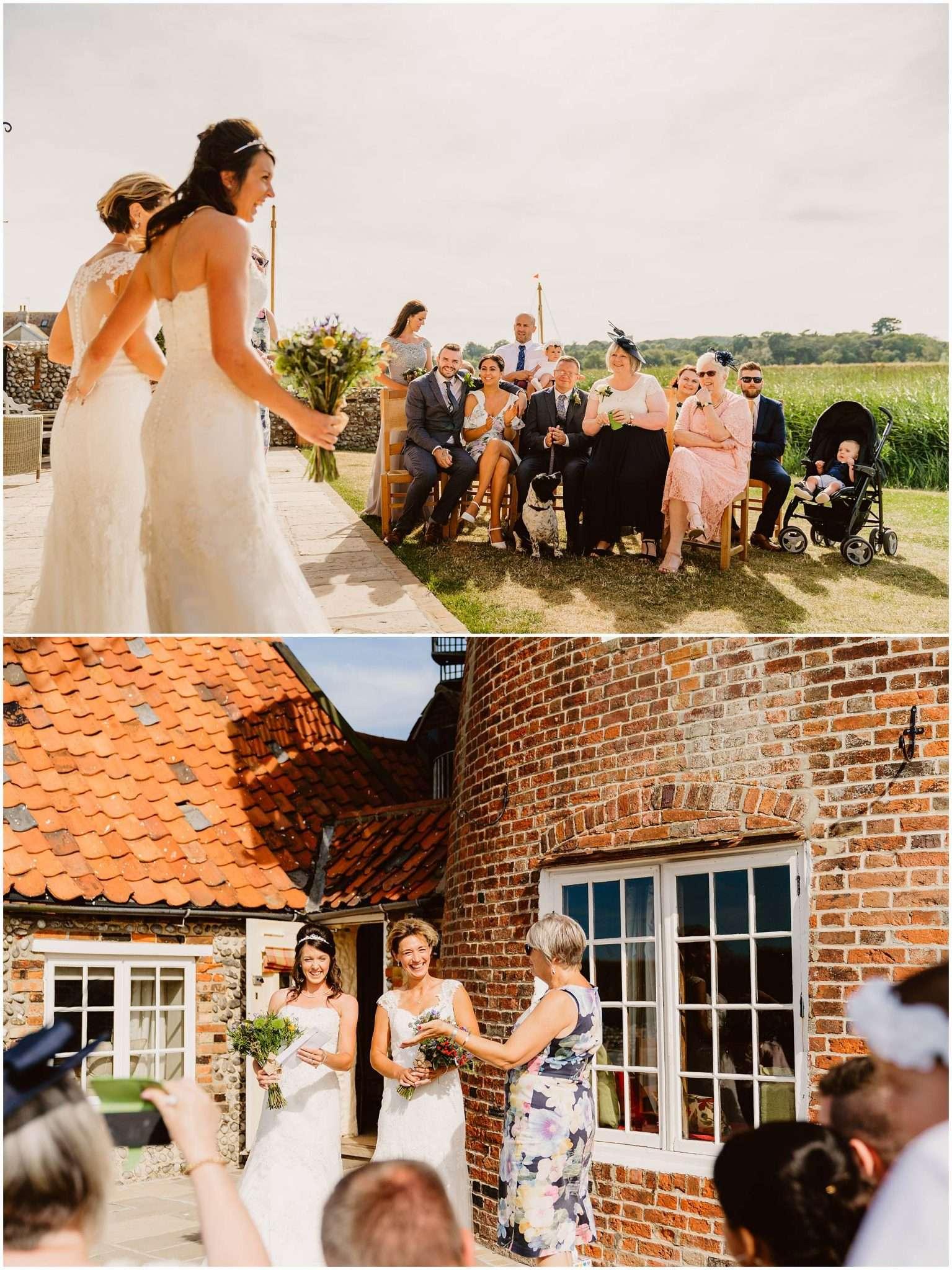 NATALIE AND REBECCA'S CLEY WINDMILL WEDDING - NORFOLK WEDDING PHOTOGRAPHER