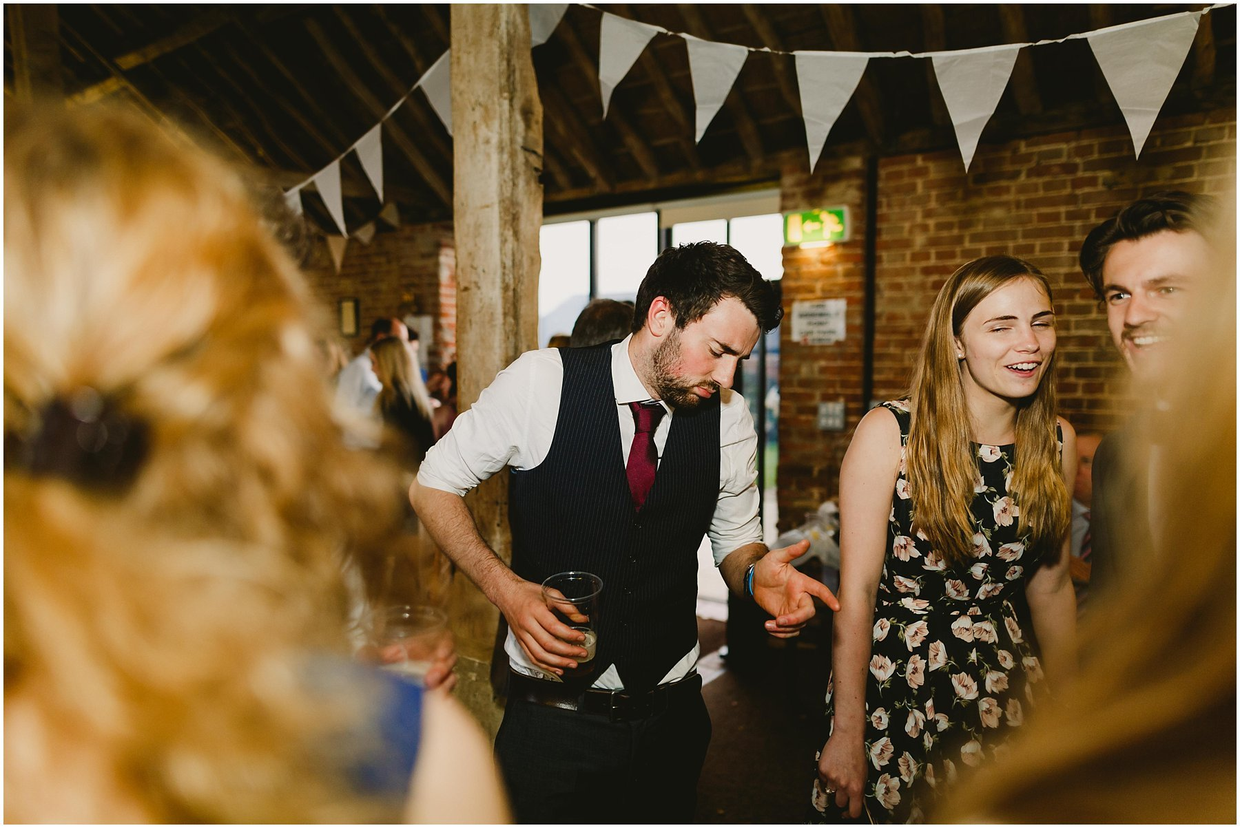 Wood Farm Barn Barnacre Wedding Photographer