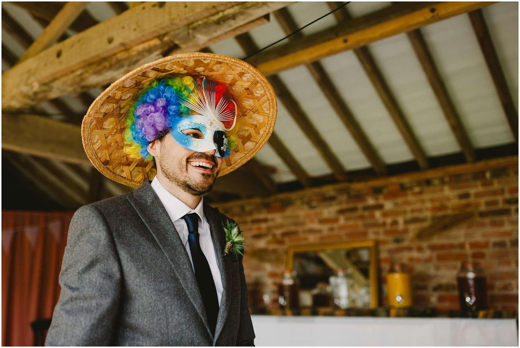 Wood Farm Barn Barnacre Wedding Photographer