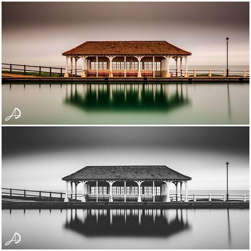 Sheringham Seafront Long Exposure Photograph - Norfolk Landscape Photographer