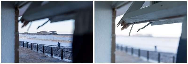 Cromer Storm and Tidal Surge 2013 Photographs - Norfolk Event Photographer