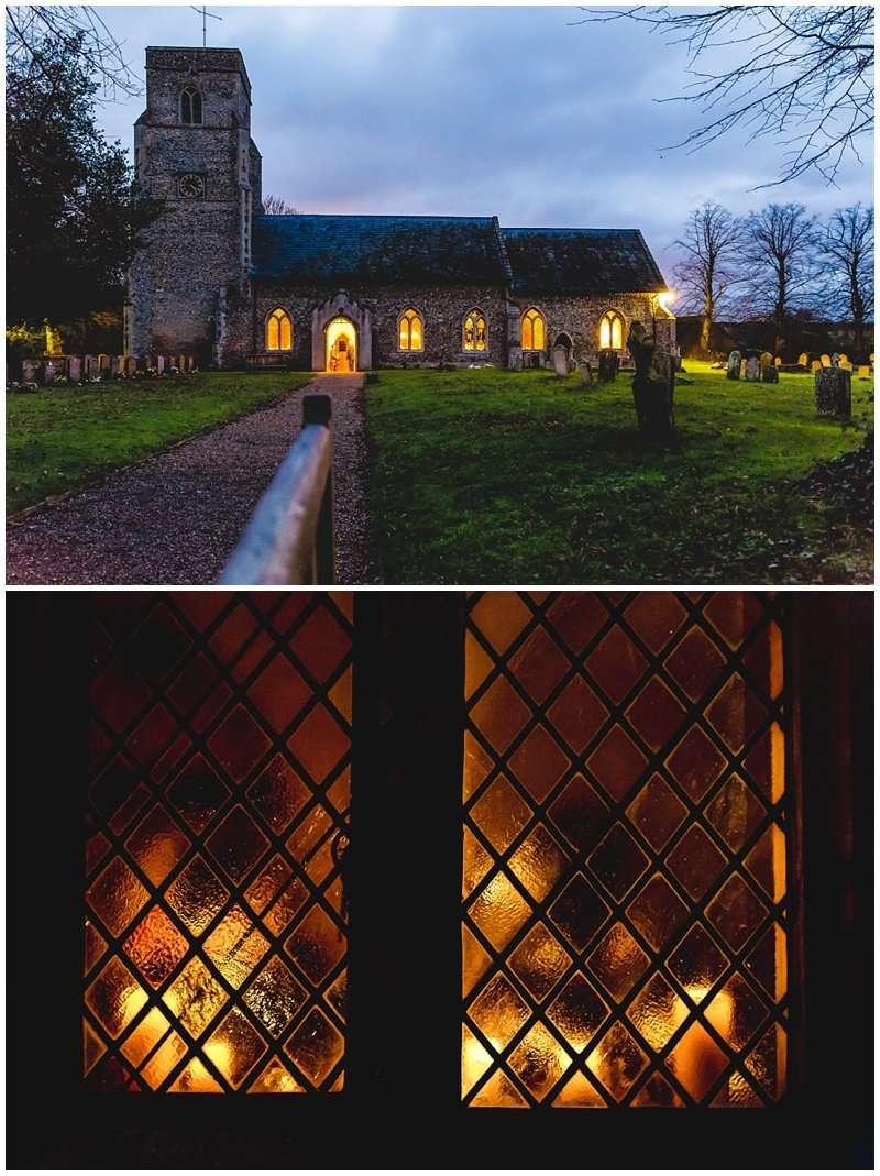 Gemma and Gary's Winter Wedding in Barnham Photograph - Norfolk and Suffolk Wedding Photographer