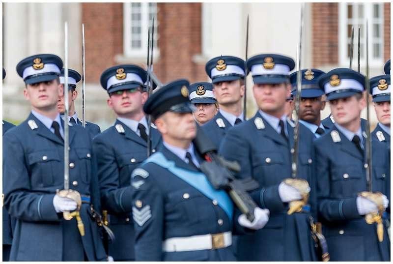 RAF Cranwell Initial Officer Training Graduation Ceremony - Norfolk Event Photographer