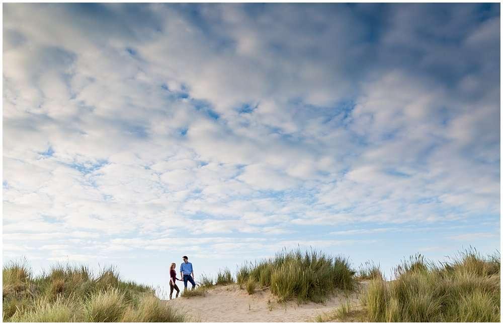 Wells Beach Engagement Shoot - Norwich and Norfolk Wedding Photographer_0336