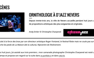 Ornithologie à d jazz Nevers
