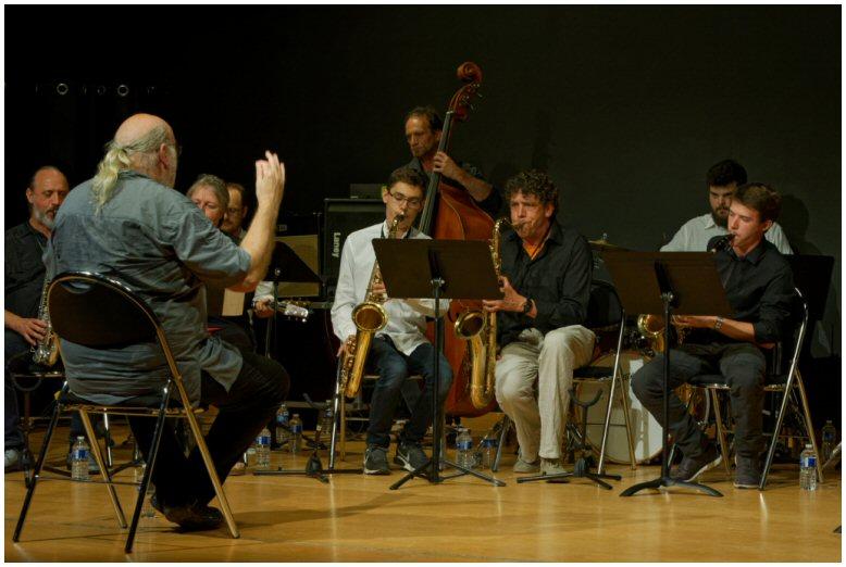 Andy Emler avec le Big-Band du Conservatoire Ardenne Métropole (Charleville-Mézières)