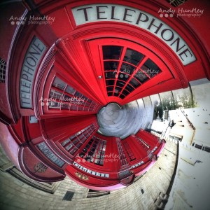 Telephone Boxes in a Spin