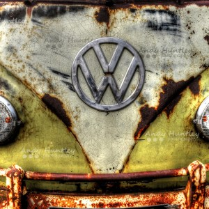 Front of VW Camper van