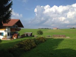 Бавария. Альпийское село Хальблех.
