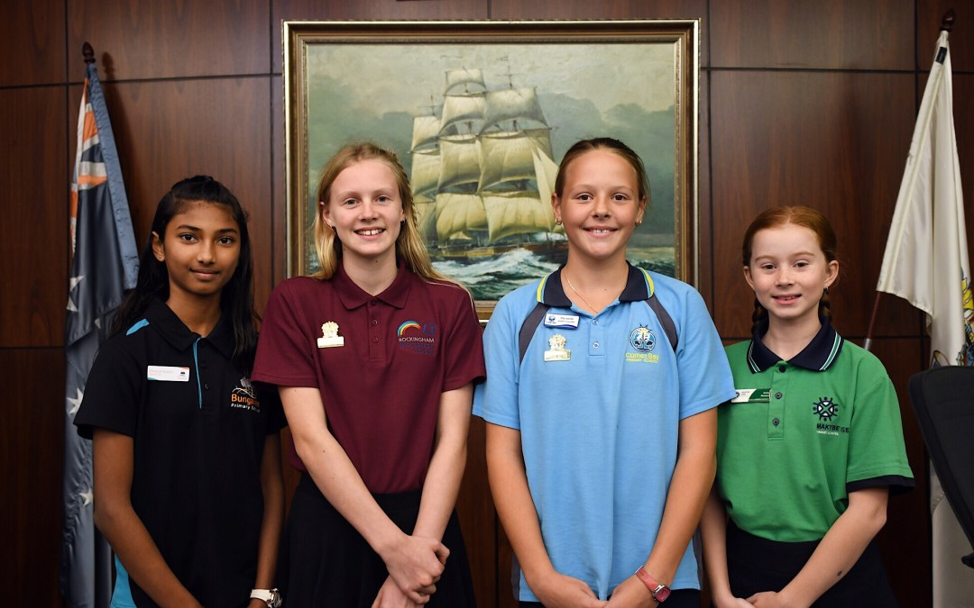 Junior Mayors Elected