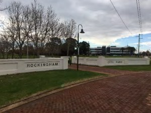 Entrance to City Park, Rockingham