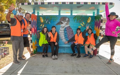 City Partners with Local Students to Tackle Graffiti