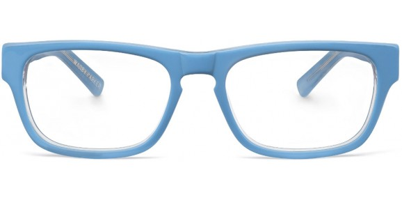 blue glasses marketing
