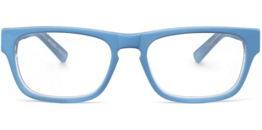 blue glasses marketing