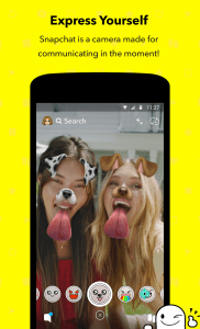 Snapchat app filters