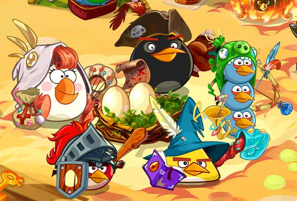 Download Angry bird epic for For PC / Angry bird epic on PC
