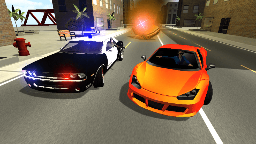 Download Police Car Chase 3D for PC/ Police Car Chase 3D on PC