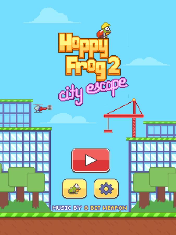 Download Hoppy Frog 2 - City Escape for PC/Hoppy Frog 2 - City Escape on PC