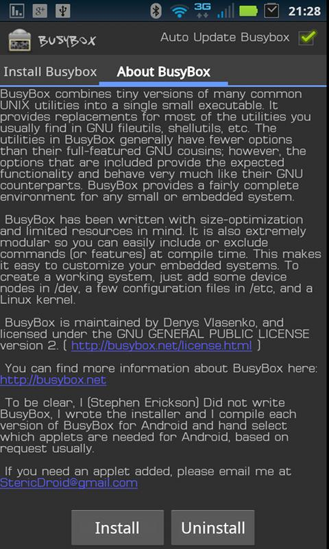 Download Busybox for PC/Busybox on PC