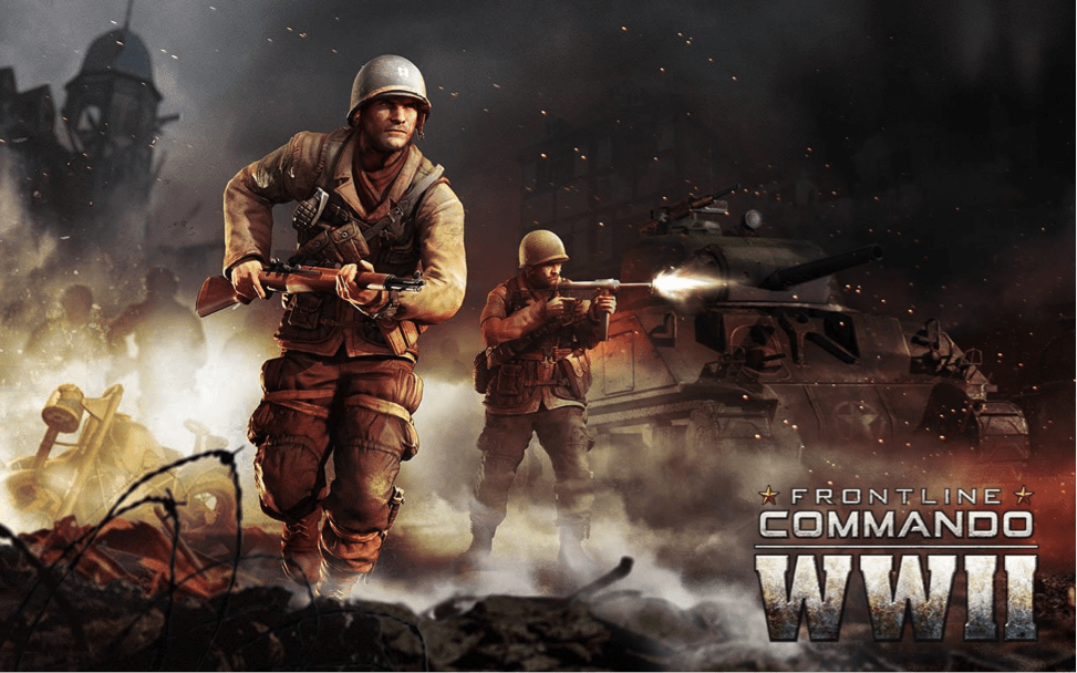 Download Frontline Commando WW2 For PC/Frontline Commando WW2 On PC